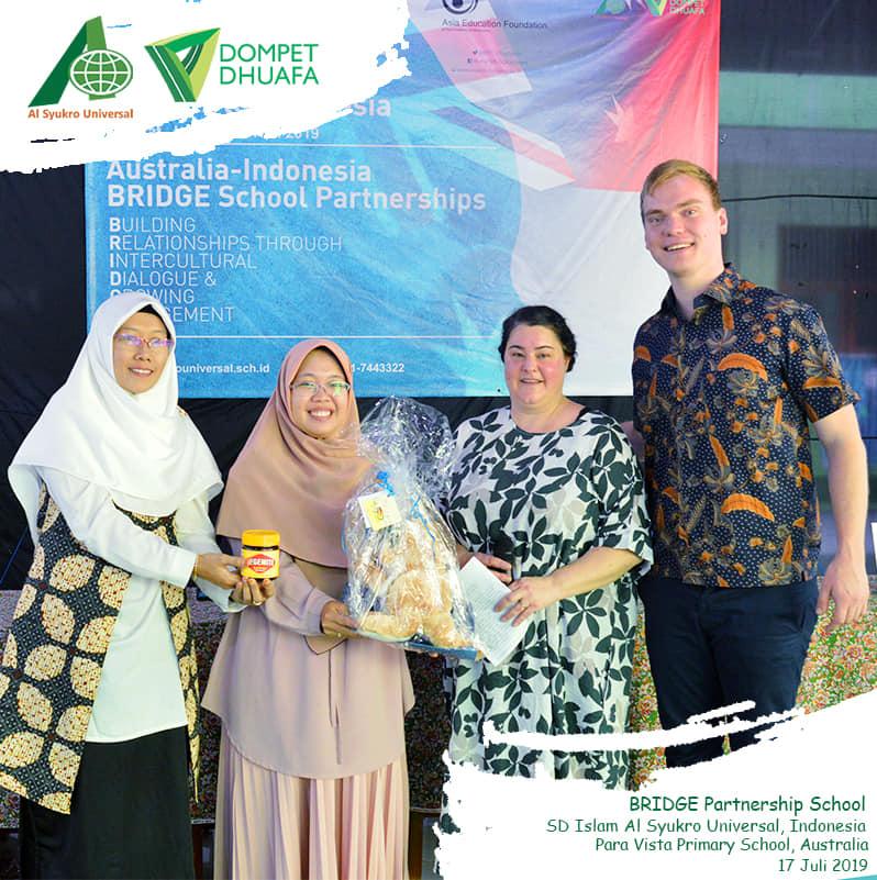 AUSTRALIA – INDONESIA BRIDGE SCHOOL PARTNERSHIPS