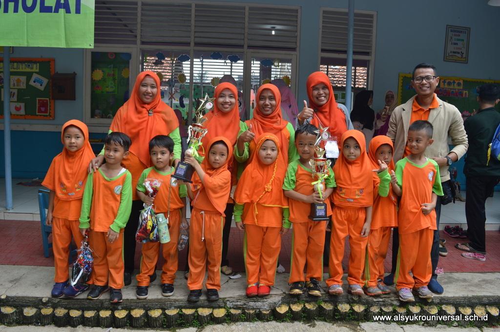 TK Islam Al Syukro Raih Juara di PORSENI  Kecamatan Ciputat